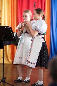 Umenie spája - priateľský koncert štyroch ZUŠ